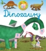 Naklejkowa zabawa. Dinozaury