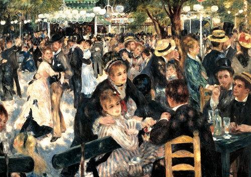 Puzzle Piatnik Renoir Bal w Moulin de la Galette 1000