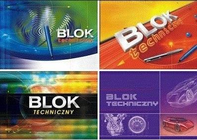 Blok techniczny A4