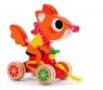 Drewniana zabawka do ciągnięcia Wiewiórka (DJ06224)