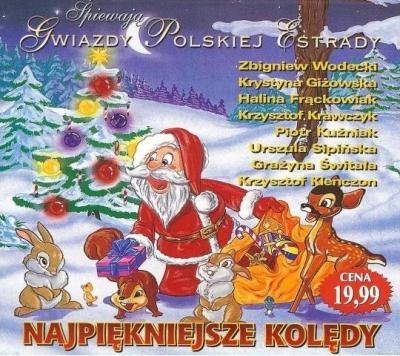 Najpiękniejsze kolędy. Gwiazdy polskiej estrady (płyta CD) praca zbiorowa