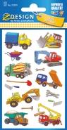 Naklejki papierowe - Roboty drogowe (53209)