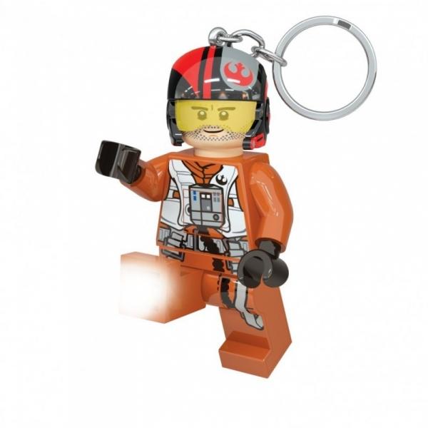 Lego Star Wars: Poe Dameron Brelok - latarka (LGL-KE95)