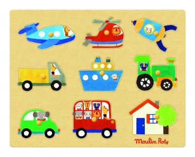 Puzzle Pojazdy   (661324)