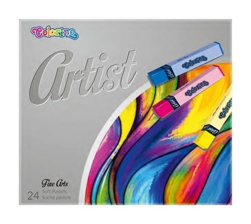 Pastele suche Colorino Artist, 24 kolory (65245PTR)