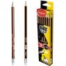 Ołówki z gumiką Blackpeps B (851724)
