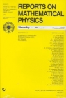 Reports on Mathematical Physics 56/3