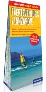 Fuerteventura i Lanzarote laminowany map&guide (2w1: przewodnik i mapa)