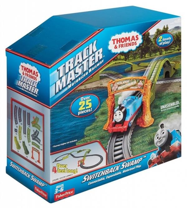 Tomek i Przyjaciele Trackamaster Tomek na bagnie (DVF74/DVF75)