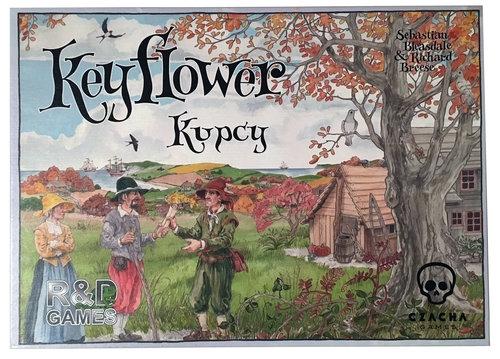 Keyflower: Kupcy Sebastian Bleasdale, Richard Breese