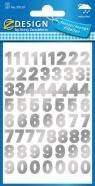 Naklejki do domu - cyfry (59124)