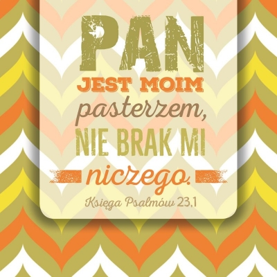 Podstawka Korkowa - Pan jest moim pasterzem SZPK32