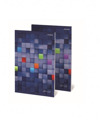 Blok notatnikowy A4/100K kratka Office (4szt)