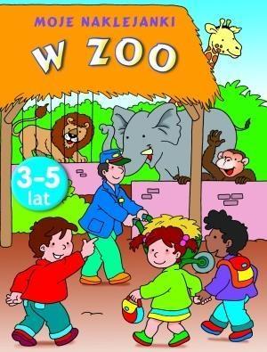 W Zoo Moje naklejanki Wiśniewska Anna