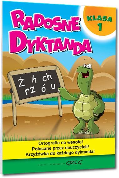 Radosne dyktanda - klasa 1 Marta Kurdziel