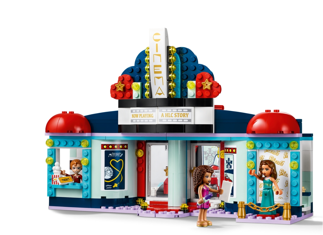 Lego Friends: Kino w Heartlake City (41448)