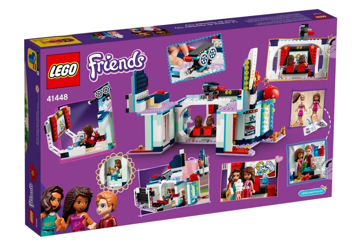 Lego Friends: Kino w Heartlake City (41448)