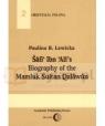 Šafi' Ibn Ali's Biography of the Sultan Qalawun Barancewicz-Lewicka Paulina