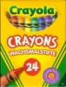 Kredki świecowe Crayola 24 sztuk (0024)