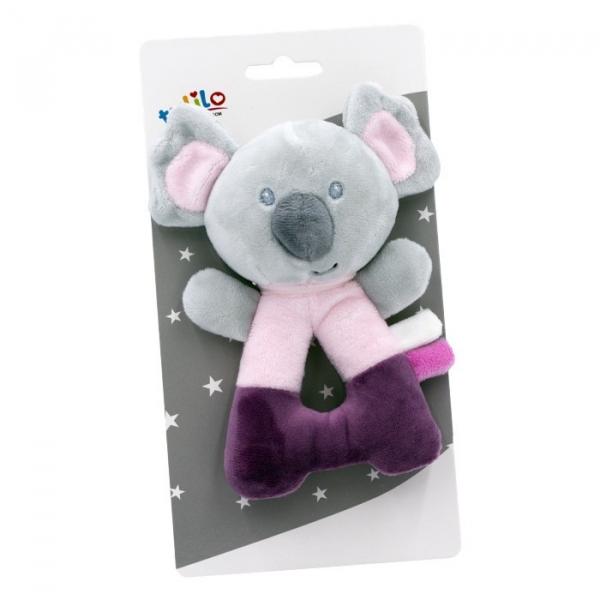 Grzechotka - Koala różowa 14 cm (5121a)
