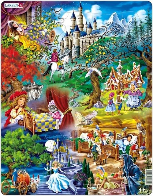 Puzzle Baśnie Braci Grimm 33