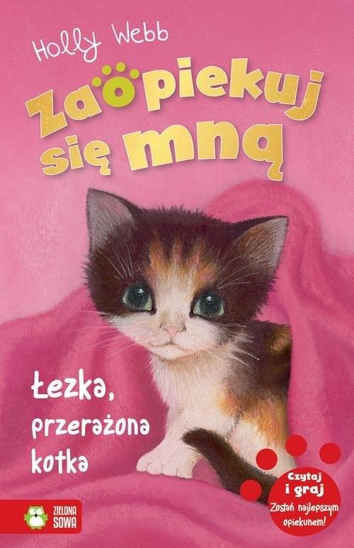 Łezka, przerażona kotka Webb Holly