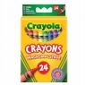 Kredki świecowe Crayola, 24 kolory (0024)