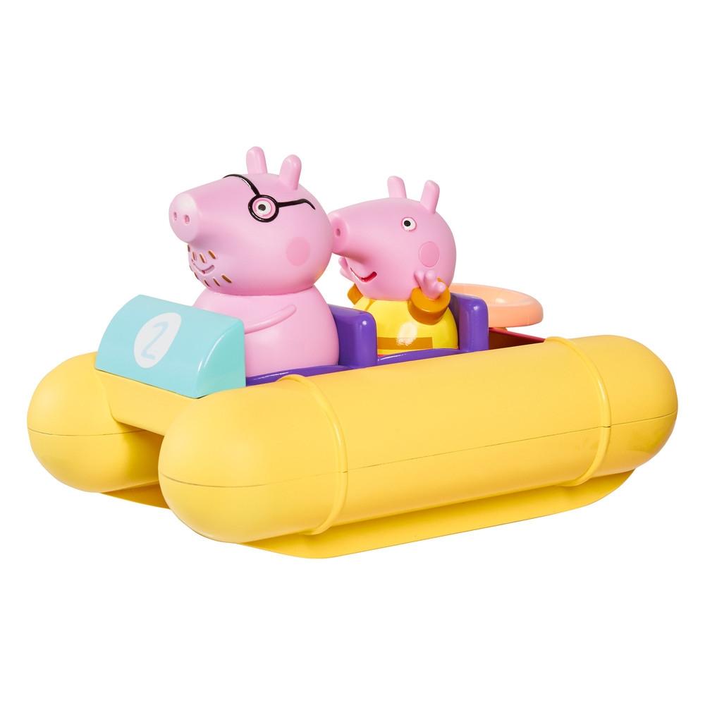 Świnka Peppa - pływający ponton z figurkami (E73107)