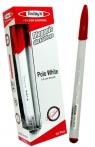 Długopis Today's Polo White czerwony 10 sztuk