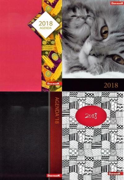 Kalendarz 2018 A5/320 Laminowany MIX DAN-MARK