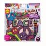 Płótno kolorowania wzór Peace