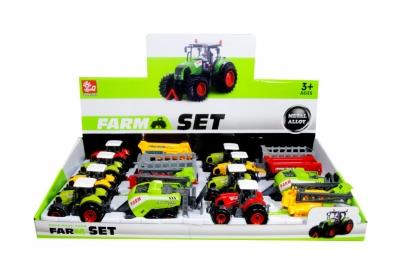 Traktor z przyyczepą