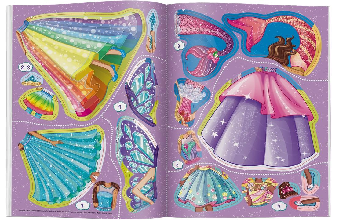 Barbie Dreamtopia. Brokatowe ubieranki (SDLB1401)