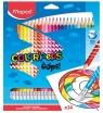 Kredki trójkątne Color'Peps Oops ścieralne z gumką (MPD-832824)