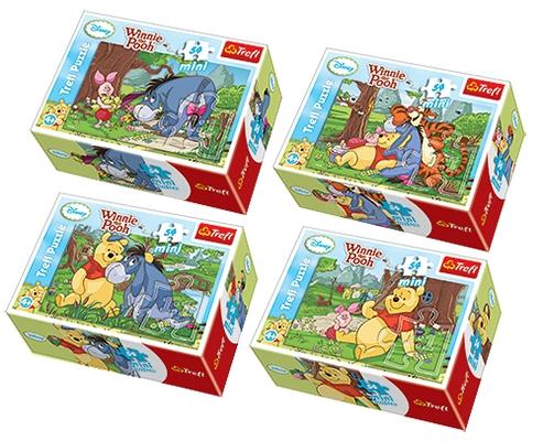 Kubuś Puchatek - Puzzle Mini - 54 elementy (54106)