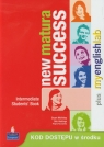 New Matura Success Intermediate Students' Book + My English Lab KcKinlay Stuart, Hastings Bob, Raczyńska Regina