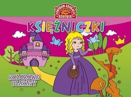 Kolorowe plakaty Księżniczki Opracowanie zbiorowe
