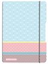 Notatnik PP my.book Flex A4/2x40k linia, kratka - Pastel (50009831)