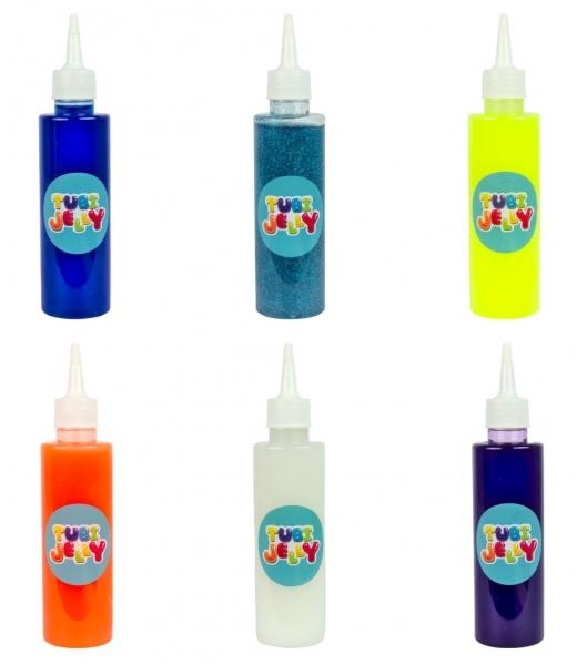 Zestaw Tubi Jelly 6 kolorów - Potworki (TU3324)