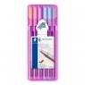 Zestaw cienkopisów 0,3 mm Pastel - 6 kolorów (334-SB6PA)