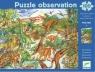 Puzzle Observation Dinozaury 100 elementów + książeczka