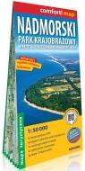 Nadmorski Park Krajobrazowy laminowana mapa turystyczna 1:50 000