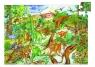 Puzzle Obserwacyjne Dinozaury 100 elementów + książeczka (DJ07424)