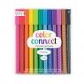 Połączone jak Tęcza Cienkopisy Żelowe. Color Connect Gel Pens. 12 Długopisów.