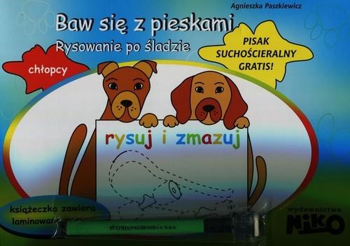 Baw się z pieskami Rysowanie po śladzie Paszkiewicz Agnieszka