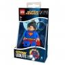 Brelok do kluczy z latarką LEGO®: DC Super Heroes - Superman (LGL-KE39)