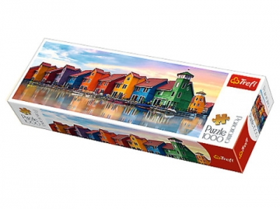 Puzzle panoramiczne Groningen Holandia 1000 elementów (29024)