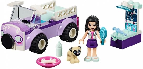 Lego Friends: Mobilna klinika weterynaryjna Emmy (41360)