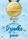 Karnet Dzień Dziadka, magnes na lodówkę B6 - Medal dla najwspanialszego