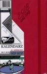 Kalendarz Hip Hop karmazyn A5 tyg. 2017/2019